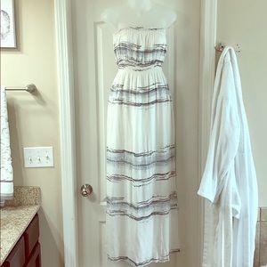 O'Neill Sleeveless Maxi Dress with Pockets Lg.